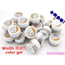 WeiDi 第3代彩膠Color Gel(每款)